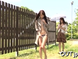 HD Asians tube Outdoor