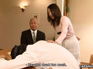 Asian floosie Yui cheating on her man in his home