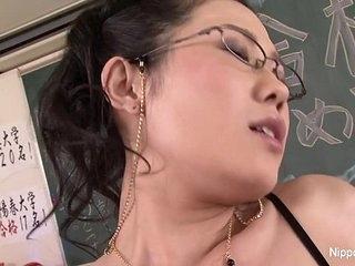 Japanese Teacher Gets Fucked