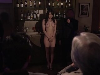 Subtitled Japanese Kurea Hasumi wife slave auction freebooting