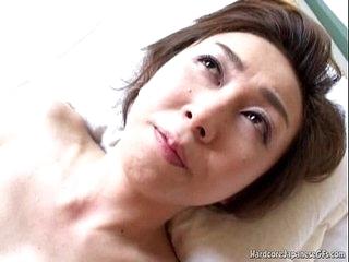 Randy Japanese MILF Tastes Some Hard Pounding Sex