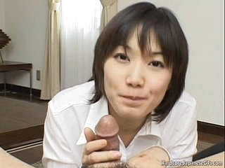 Luring And Kinky Japanese Cutie Giving Pill popper Seductively