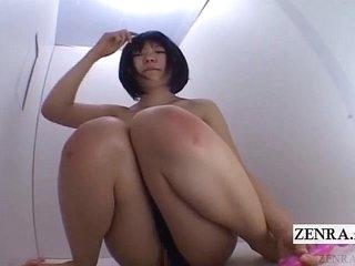 Japanese AV masturbation till batteries run out subtitled