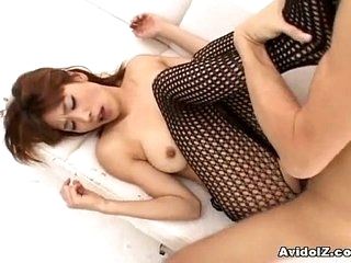 Japanese babe gives a tit job Obsessed
