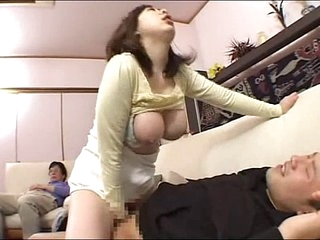 Boozed MOM JAV SON GETS JAPANESE MOM Boozed