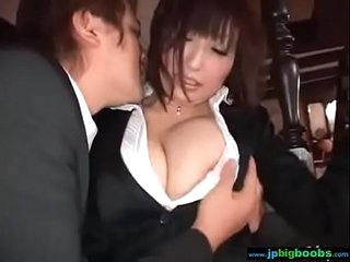 Heavy Tits Japanese Babe Spread out Get Unending Banged clip-10