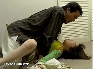 Thief Force screwing japanese housewife