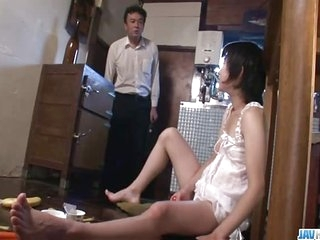Hot mom, Aoba Itou, kneels back suck on - More at javhd.net