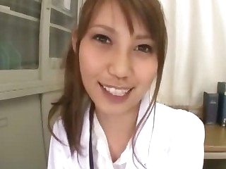 Adorable Japanese be responsible for Ebihara Arisa loves their way bustle and in all directions from the horny patients she can examine