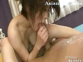 Cute Japanese Unfocused Threeway