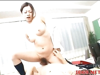 Japanese AV Model forced to suck