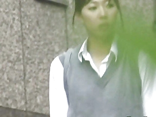 Japanese legal ripen teenager pees n rubs