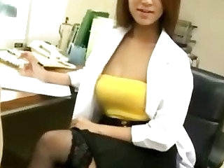 Japanese take charge of russian and cumshot action