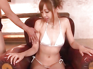Sexy porn play respecting insolent Japanese Anri Hoshizaki