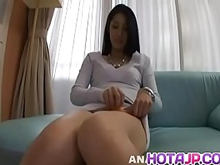 Hot japanese unfocused Kyoka Ishiguro type faithful to neck dick in perfect POV