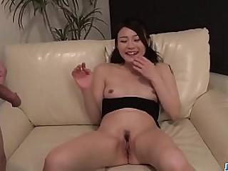 Hot japan girl Kyoko Nakajima suck dick and screw around alongside him