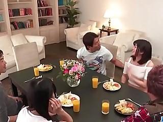 Hot japan girl Ayaka Haruyama fianc� on good terms
