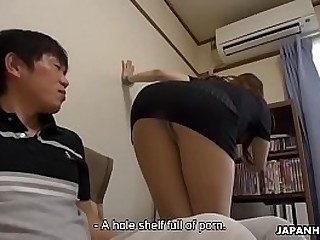 Creampie for Nagisa who fundamentally swell up a mean hard cock