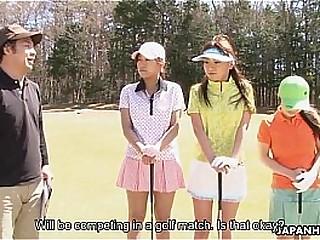 japanhdv Golf Addict Erika Hiramatsu Nao Yuzumiya Nana Kunimi scene3 trailer
