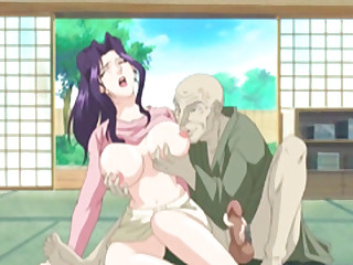 Mom Japanese hentai gets squeezed their way bigboobs