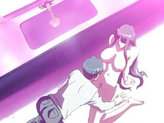 Japanese bigboobs hentai coed gets licked the brush nipples
