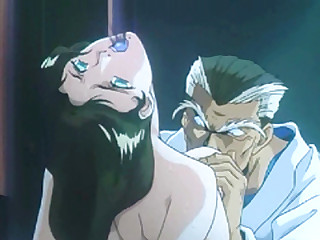 Japanese hentai girl putrefacient and hard poked by old pervert guy