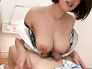 Horny Japanese babe Mayuka gets fucked increased wits creampied wits guy