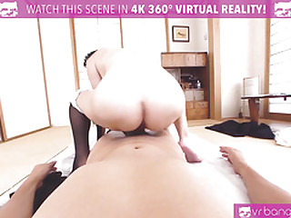 VRBangers.com Young Japanese Gets Penetrated by a Big Dick together with Creampied