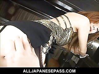 Horny challenge pummels a furtive pussy with a dildo as she sucks on his toys