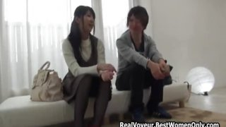 Japanese Stepsister And Virgin Stepbrother Making love Lesson
