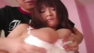 fuck movies A Lactating Japanese girl,puffy nipples, chubby areolas