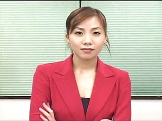 Sexy japanese office woman bukakke