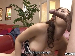 Japanese woman, Koi Miyamura is whacking big unorthodox sex lessons, uncensored