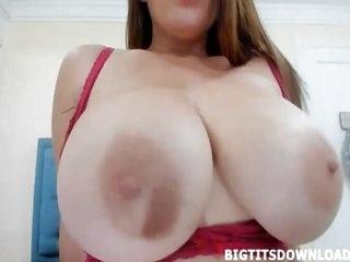 Gigantic titties murk in lingerie