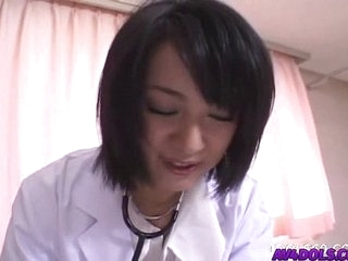 Horny doctor Shinobu Mizushima gets banged by her lawsuit and facial